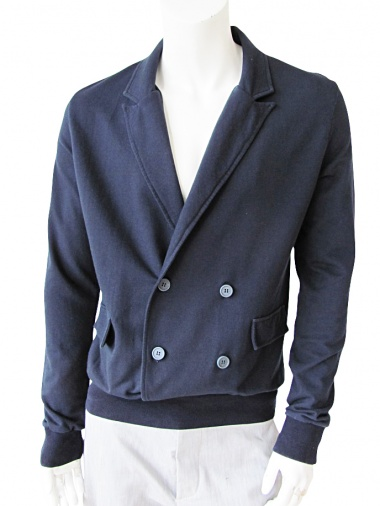 Giulio Bondi Double-breasted Jacket Sweatershirt