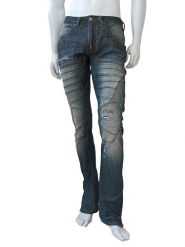 Vic-Torian Jeans with zippers