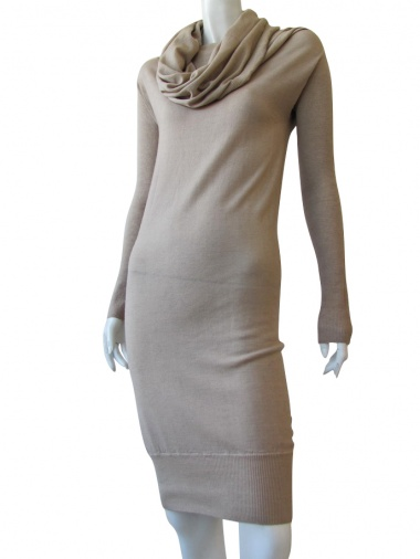 Nicolas & Mark Shawl neck Dress