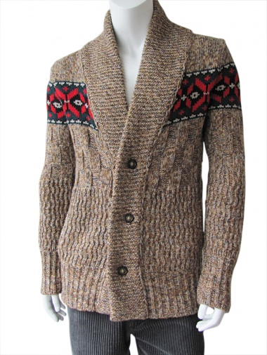 Nicolas & Mark Cardigan multi fantasia