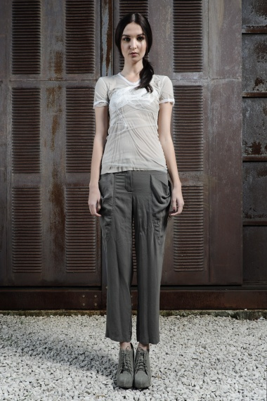 Nicolas & Mark Pants with draped pockets