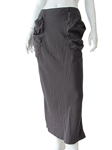 Nicolas & Mark Skirt with draped pockets