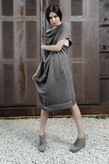 Nicolas & Mark Fleece Sleeveless Dress