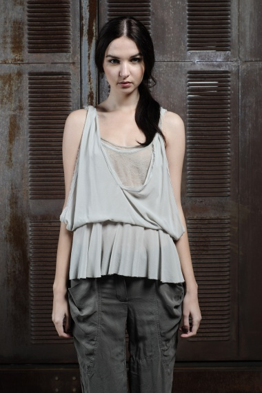 Nicolas & Mark Draped Halter