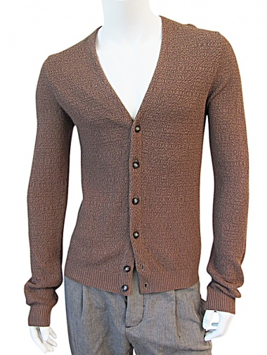 Nicolas & Mark Rice-stitch Cardigan