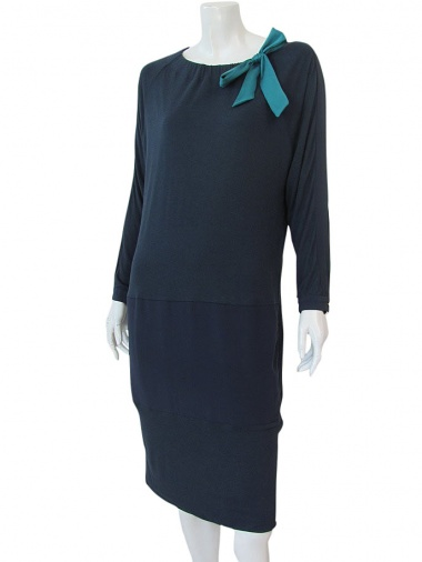 Volod'ja Jersey Dress Silk Band