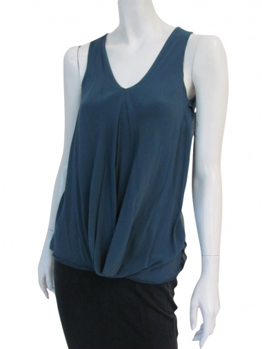 Nicolas & Mark Draped sleeveless t-shirt
