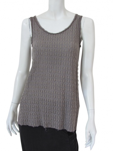 Nicolas & Mark Macramé Lace Tank Top
