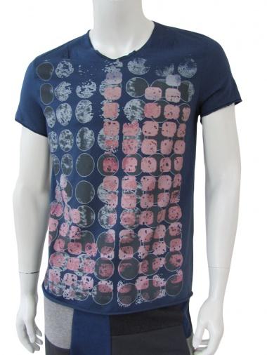 Nicolas & Mark T-Shirt m/c taglio vivo