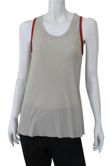 Nicolas & Mark Tank top with contrasting trim