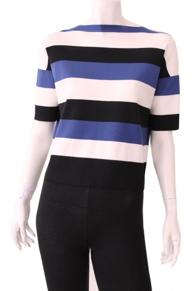 ONE CHOI Three Tone Stripes Knit