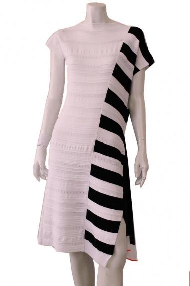 ONE CHOI Dress whit panel