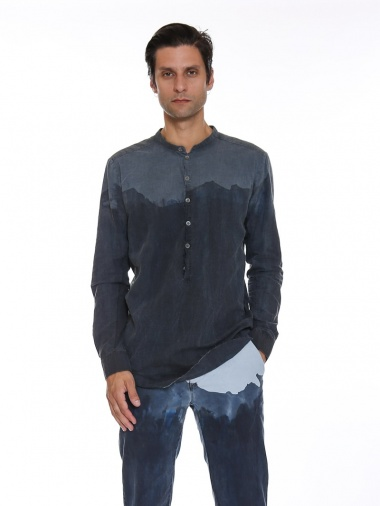 Nicolas & Mark Corean Shirt Bicolor
